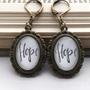 Product - Bronze Hope earrings